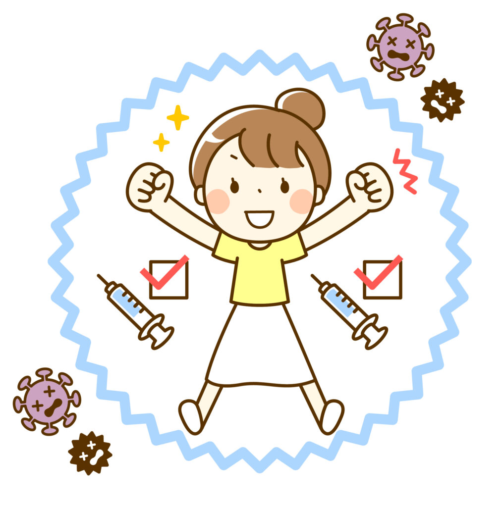 【限定】コロナワクチン2回接種の方 メニューから100円引き